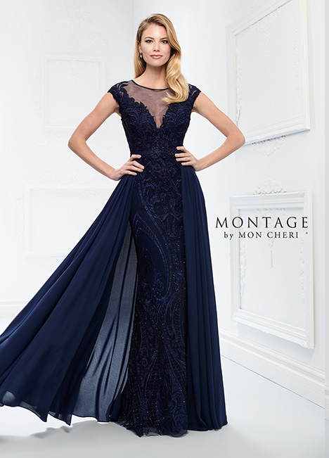 218914 (+ overskirt) Mother of the Bride                              dress by Montage by Mon Cheri