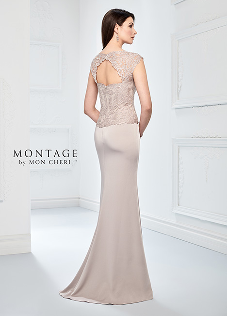 218915 (back) Mother of the Bride                              dress by Montage by Mon Cheri