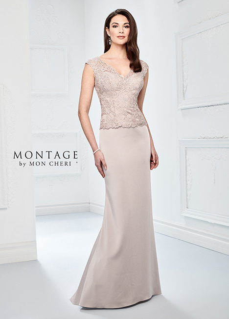 218915 (English Rose) Mother of the Bride                              dress by Montage by Mon Cheri