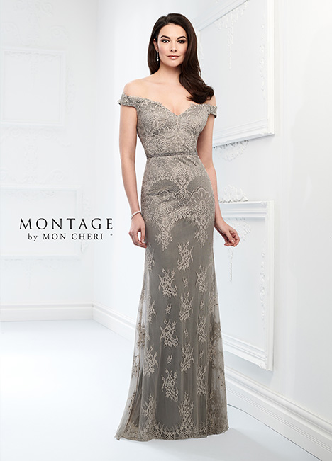 218917 (Gray) Mother of the Bride                              dress by Montage by Mon Cheri