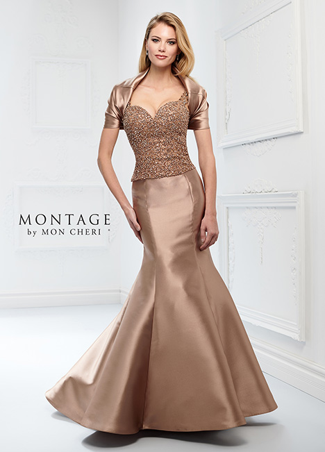 218919 (+ shrug) Mother of the Bride                              dress by Montage by Mon Cheri
