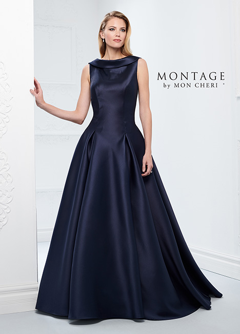 218921 (Navy Blue) Mother of the Bride                              dress by Montage by Mon Cheri
