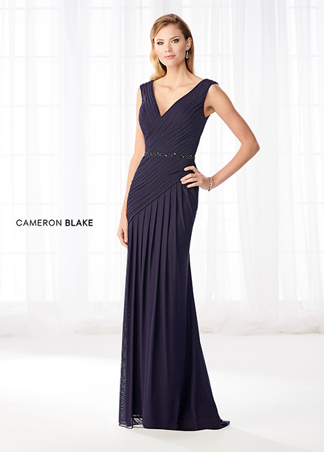 218603 (Navy Blue) Mother of the Bride                              dress by Cameron Blake