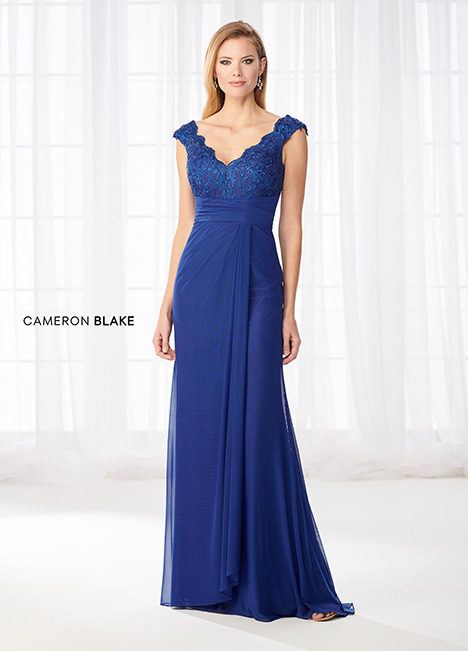 218609 Mother of the Bride                              dress by Cameron Blake