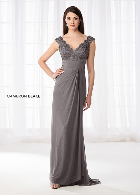 218609 (Smoke) Mother of the Bride                              dress by Cameron Blake