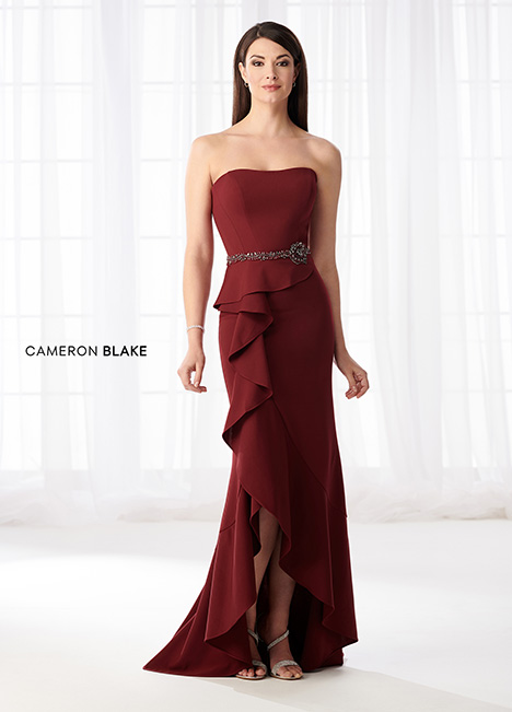 218612 (Garnet) Mother of the Bride                              dress by Cameron Blake
