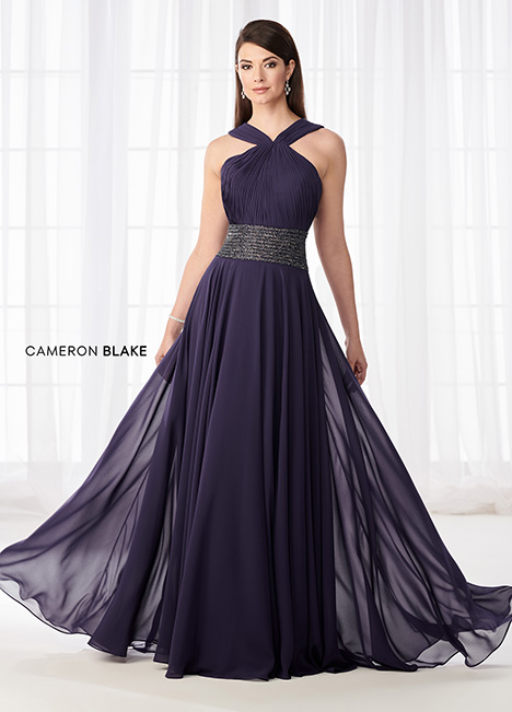 218615 (Purple) Mother of the Bride                              dress by Cameron Blake