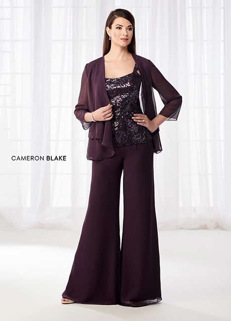 218621 (Eggplant) Mother of the Bride                              dress by Cameron Blake
