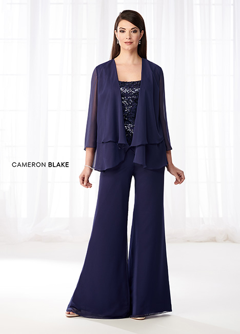 218621 (Navy Blue) Mother of the Bride                              dress by Cameron Blake