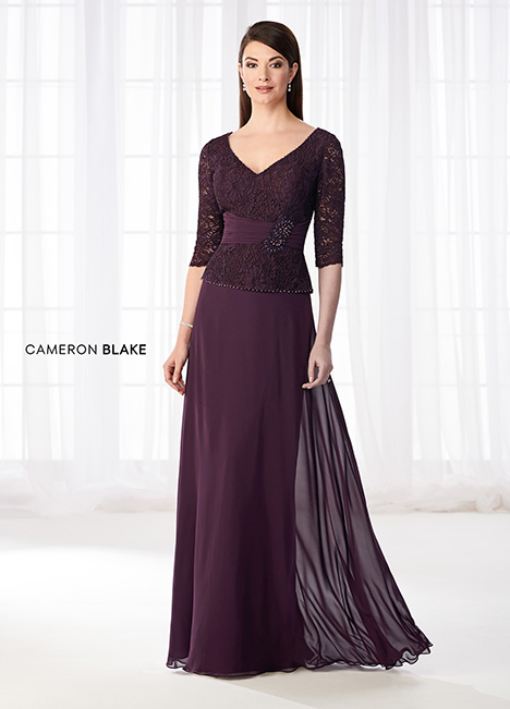 218623 (Eggplant) Mother of the Bride                              dress by Cameron Blake