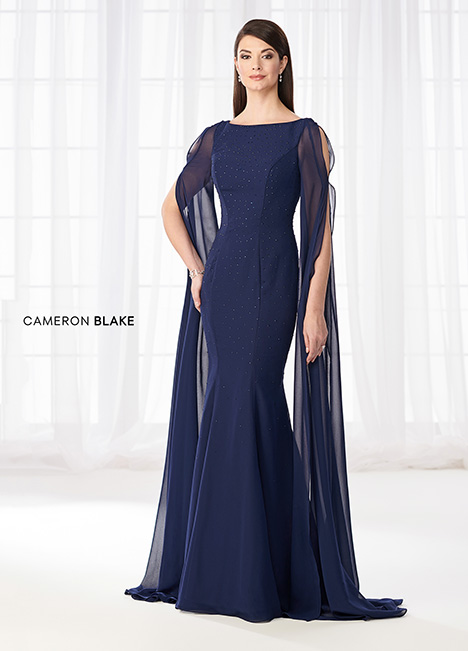 218627 (Navy Blue) Mother of the Bride                              dress by Cameron Blake