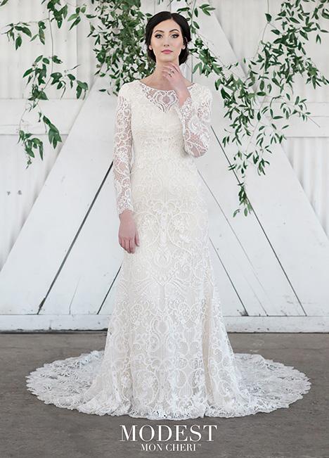 TR21851 Wedding                                          dress by Modest by Mon Cheri
