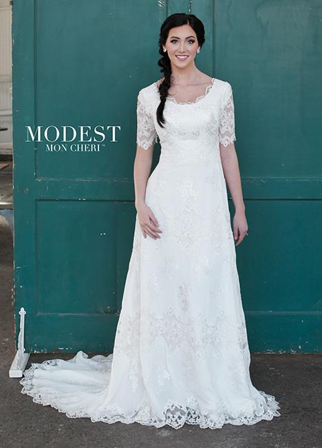 TR21853 Wedding                                          dress by Modest by Mon Cheri