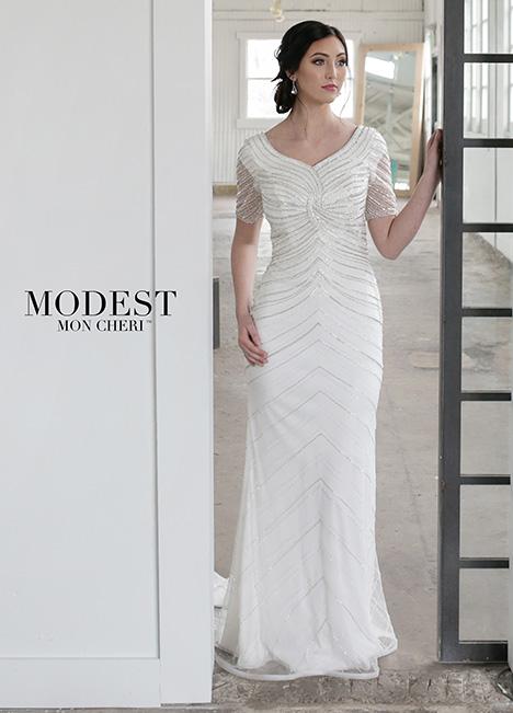 TR21855 Wedding                                          dress by Modest by Mon Cheri