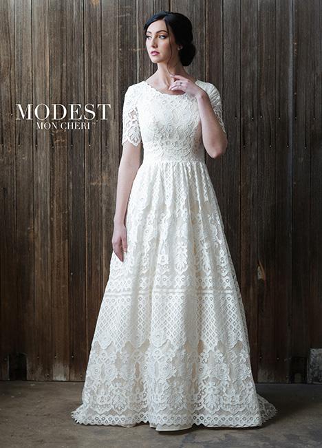 TR21864 Wedding                                          dress by Modest by Mon Cheri