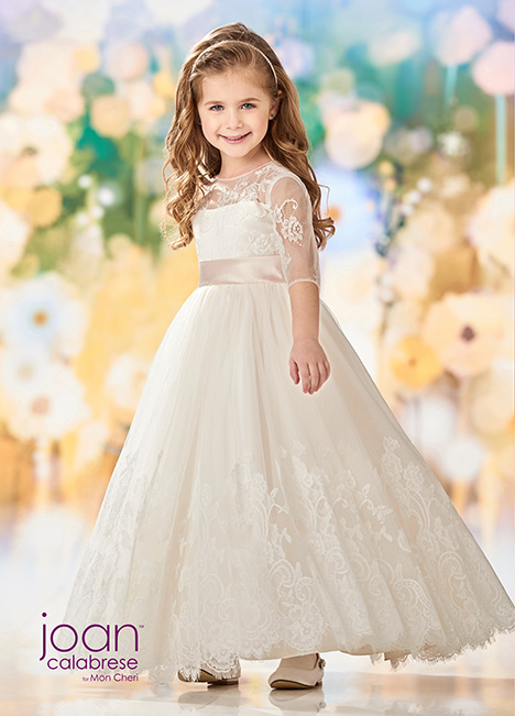 218352 (Ivory/Petal) Flower Girl                                      dress by Joan Calabrese