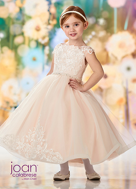 218353 (Ivory/Petal) Flower Girl                                      dress by Joan Calabrese