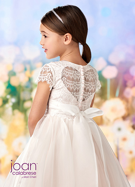 218355 (back) Flower Girl                                      dress by Joan Calabrese