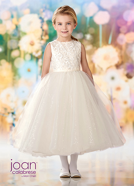 218357 (Ivory) Flower Girl                                      dress by Joan Calabrese