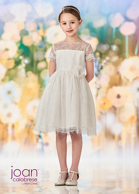 218359 (Ivory) Flower Girl                                      dress by Joan Calabrese