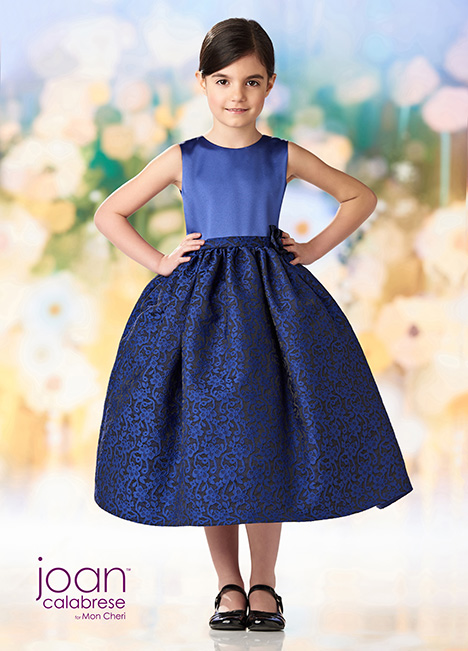 218360 (Navy Blue) Flower Girl                                      dress by Joan Calabrese
