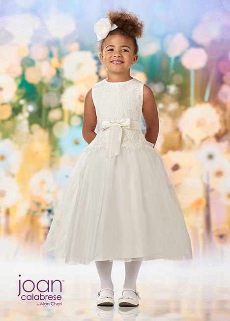 218347 (Ivory) Flower Girl                                      dress by Joan Calabrese