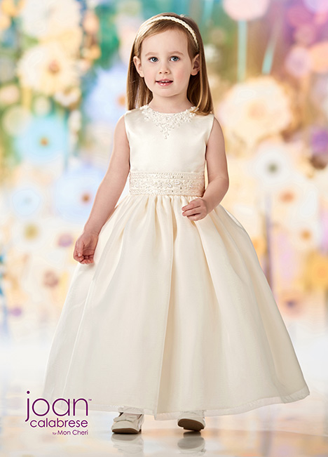 218344 (Ivory) Flower Girl                                      dress by Joan Calabrese
