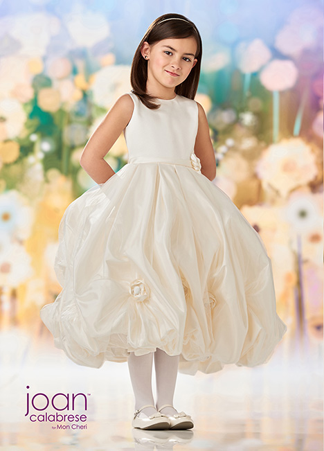 218343 (Ivory) Flower Girl                                      dress by Joan Calabrese