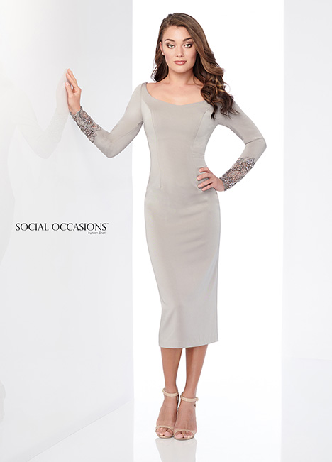 218807 (Oyster) Mother of the Bride                              dress by Mon Cheri: Social Occasions