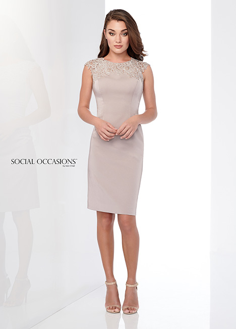 218812 (Oyster) Mother of the Bride dress by Mon Cheri: Social Occasions