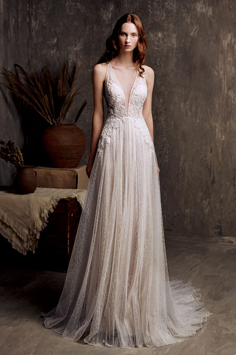 Gwenn (801500159) Wedding                                          dress by Chic Nostalgia