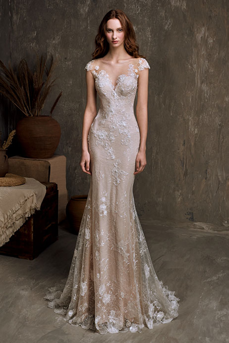 Meredith (801500269) Wedding                                          dress by Chic Nostalgia