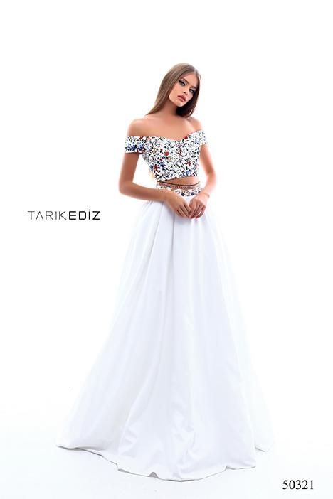 (50321) BLUE Prom dress by Tarik Ediz: Prom