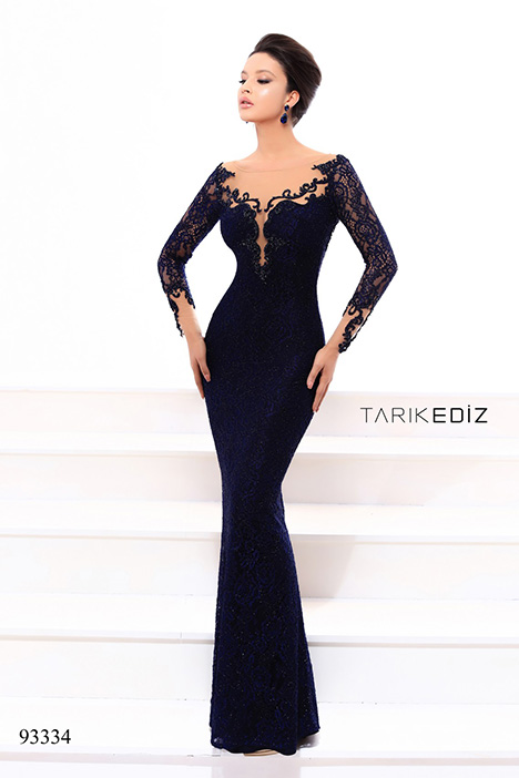 93334 gown from the 2018 Tarik Ediz: Evening Dress collection, as seen on dressfinder.ca
