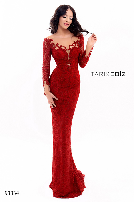 93334 (2) gown from the 2018 Tarik Ediz: Evening Dress collection, as seen on dressfinder.ca