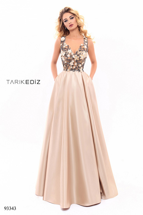 93343 gown from the 2018 Tarik Ediz: Evening Dress collection, as seen on dressfinder.ca