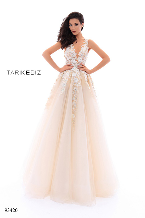 93420 (2) Prom                                             dress by Tarik Ediz: Evening Dress