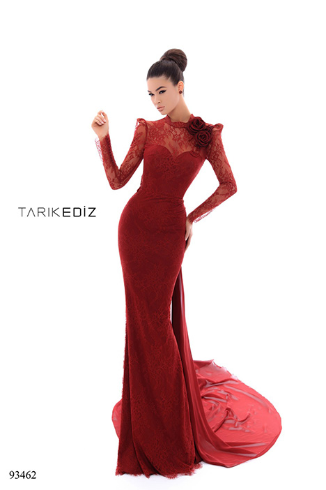 93462 gown from the 2018 Tarik Ediz: Evening Dress collection, as seen on dressfinder.ca