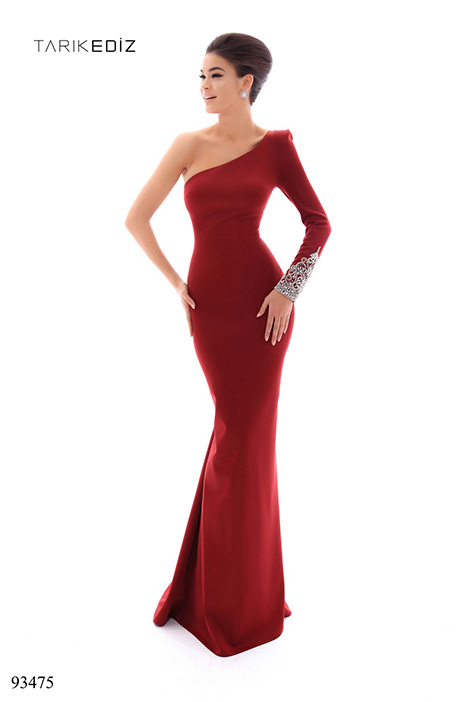 93475 gown from the 2018 Tarik Ediz: Evening Dress collection, as seen on dressfinder.ca