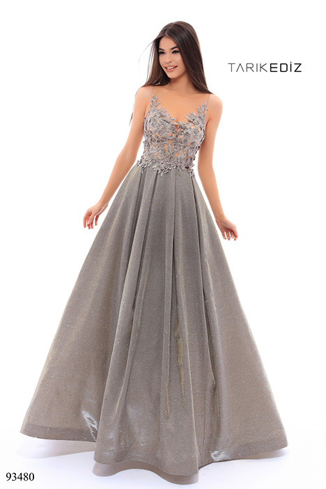 93480 Prom                                             dress by Tarik Ediz: Evening Dress