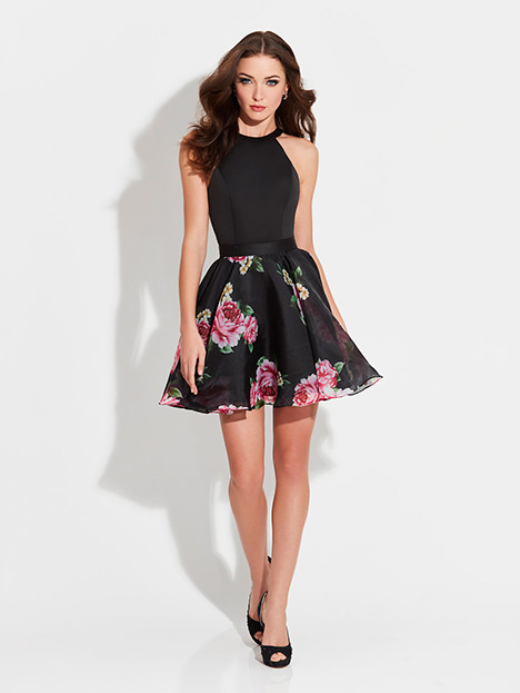 17-500 (Black) Prom                                             dress by Madison James Special Occasion