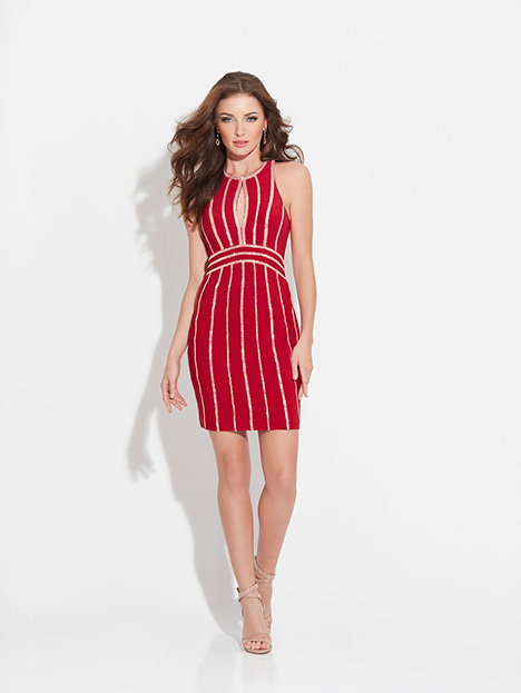 17-504 (Red) Prom                                             dress by Madison James Special Occasion