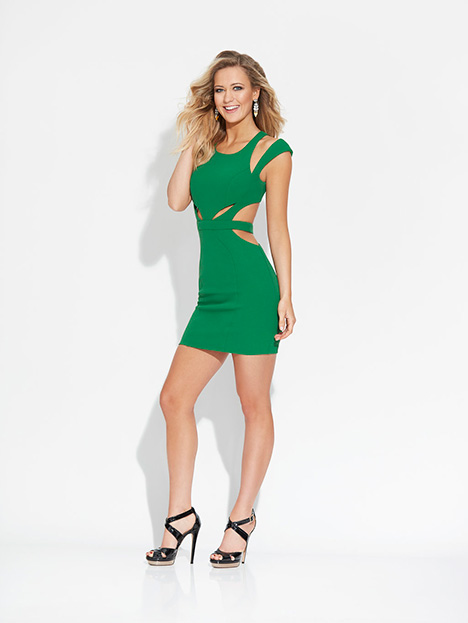 17-506 (Green) Prom                                             dress by Madison James Special Occasion