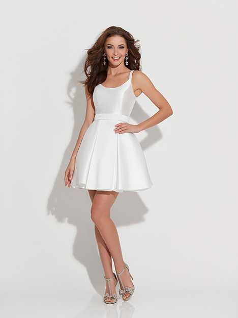 17-508 (White) Prom                                             dress by Madison James Special Occasion