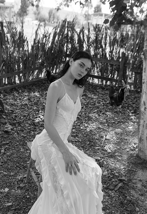 Clara Wedding                                          dress by Alon Livne : White