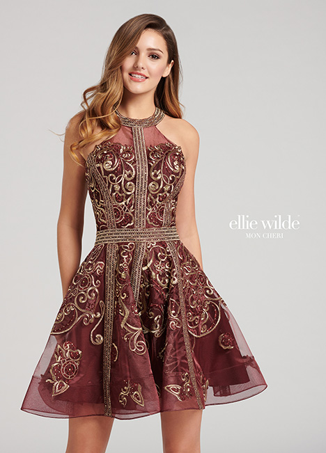Style EW21818 gown from the 2018 Ellie Wilde collection, as seen on dressfinder.ca