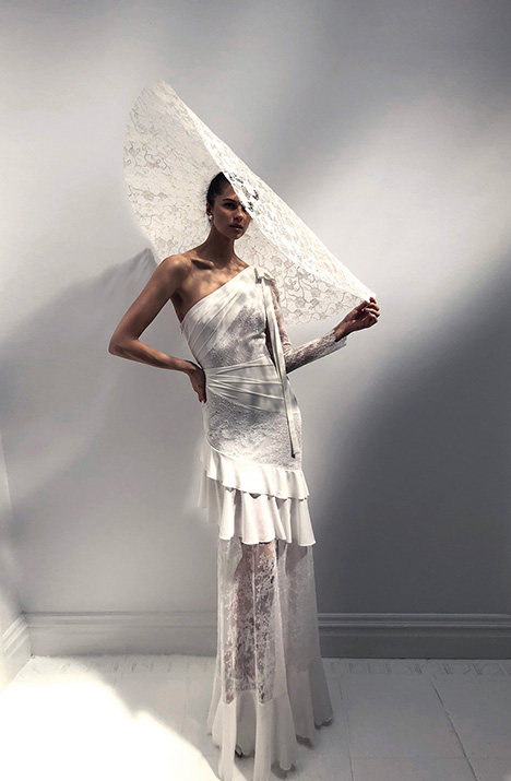 Sophia (+ Mandy hat) Wedding                                          dress by Alon Livne : White
