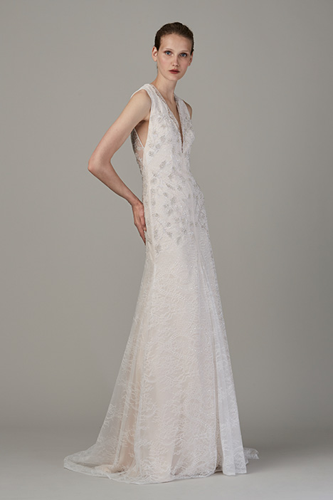 The Auberge gown from the 2018 Lela Rose collection, as seen on dressfinder.ca