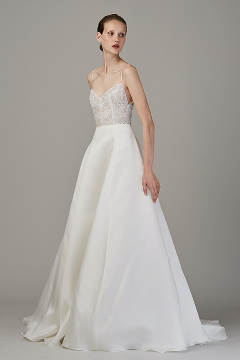 The Glacier Wedding                                          dress by Lela Rose