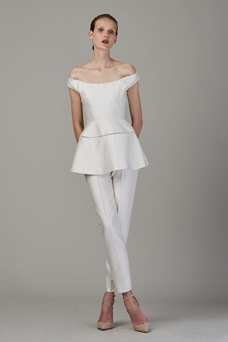 The Upper Deck Wedding                                          dress by Lela Rose